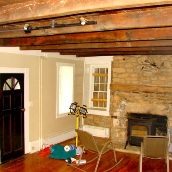 Fireplace of Historic Renovation Using 203k Loan
