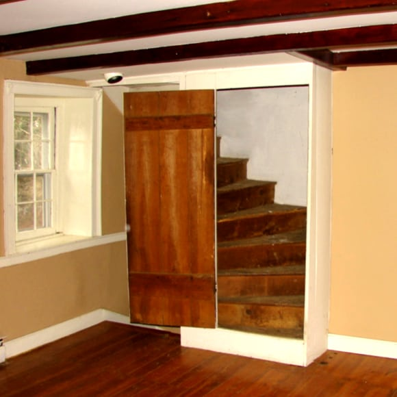 Interior with Staircase of Historic Renovation