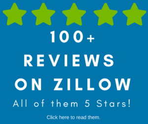 100+ Zillow Reviews for our Mortgage Lending Process