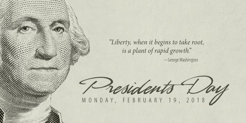 When Is President Day >> Celebrate Presidents Day Homebridge Financial Services