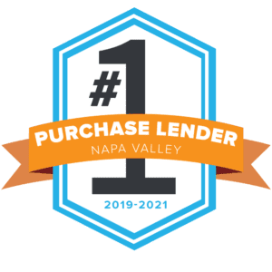 Top Purchase lender badge for Napa California