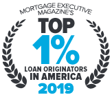 Jaime Zeitz Mortgage Executive Magazine Top 1%