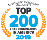 Brian Minkow Mortgage Executive Magazine Top 200 Loan Originators In America 2019